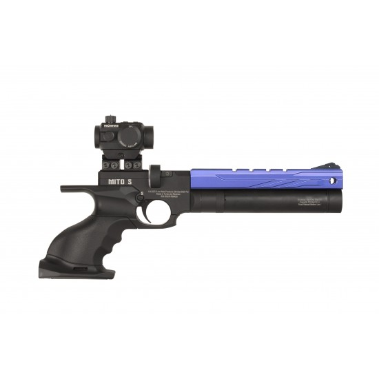 Reximex Mito Blue - PCP air pistols supplied by DAI Leisure