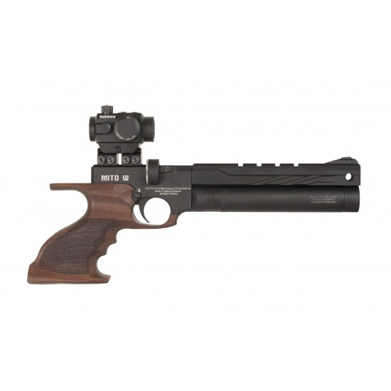 Reximex Mito Walnut - PCP air pistols supplied by DAI Leisure