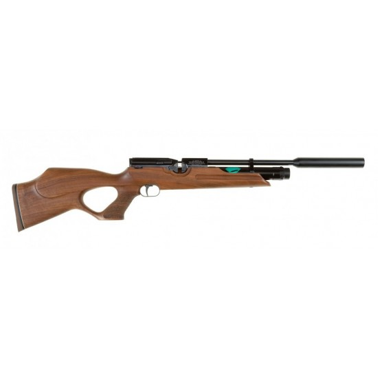 Weihrauch HW100 T Walnut - Precharged air rifles supplied by DAI Leisure