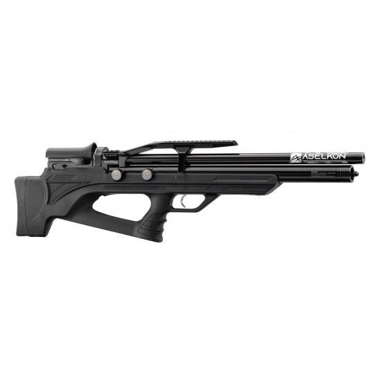 Aselkon MX10-S Black - PCP air rifle supplied by DAI Leisure
