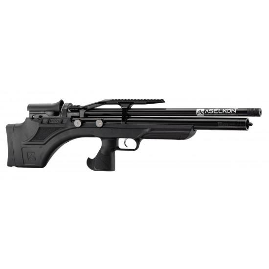 Aselkon MX7 Black - PCP air rifles supplied by DAI Leisure