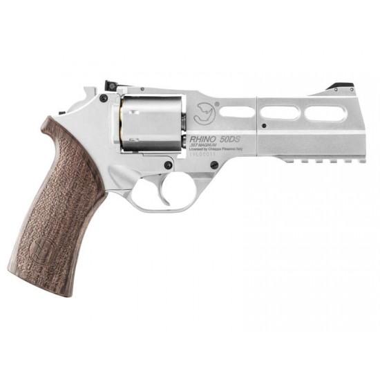 Chiappa Rhino 50DS CO2 .357 Magnum Revolver - Silver