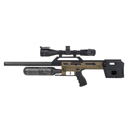 Daystate Delta Wolf Bronze HP FAC - PCP air rifle supplied by DAI Leisure