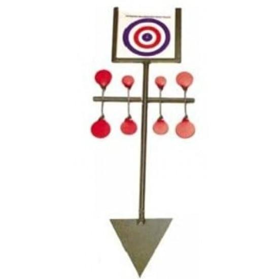 Bisley Target Spinner - Red Set