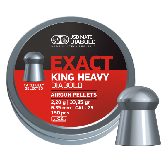 JSB Exact Heavy .25 (6.35)