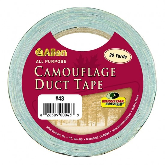 """Allen Hunting Accessory Camo Duct Tape (PDQ Display) Break-Up 2"""" x 20yd"""