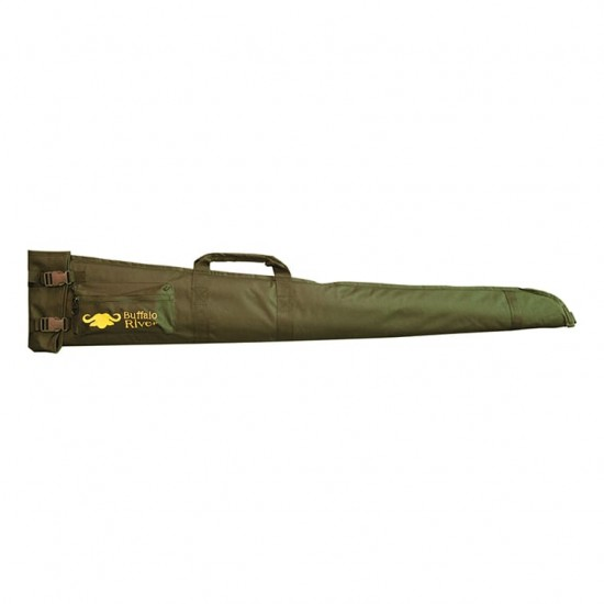 """Buffalo River Field shotgun Bag 52"""" Green"""