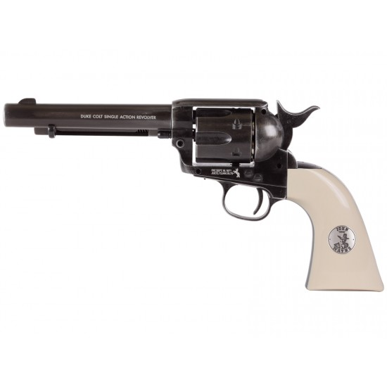 Colt John Wayne Weathered CO2 pellet with ivory grips