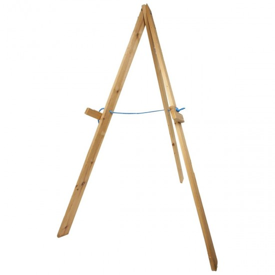 Wooden Stand for Straw/Leisure Foam Targets by Petron