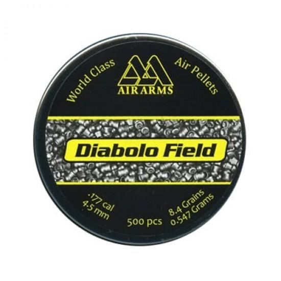Air Arms Diabolo Field .177 (4.51) Calibre Pellets