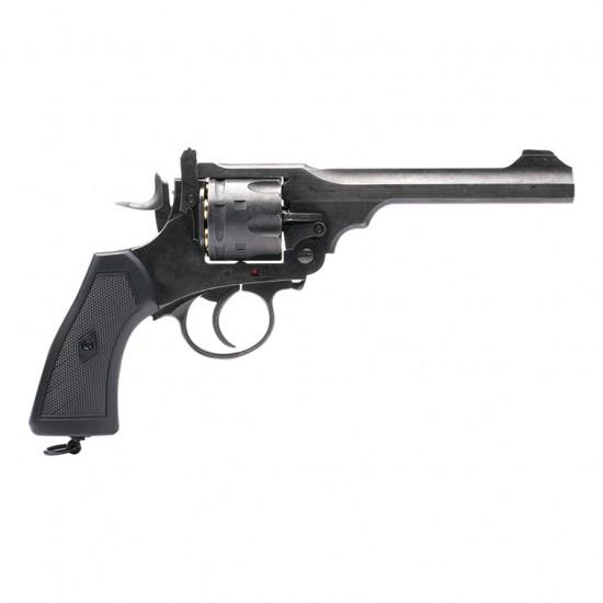 Webley MkVI .455 Service Revolver Battlefield Finish .22 pellet