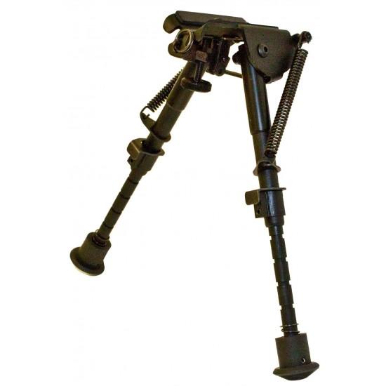 "Bisley Swivel Rifle Bipod 6-9"""