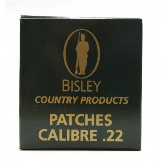 Cleaning Patches by Bisley .22 cal