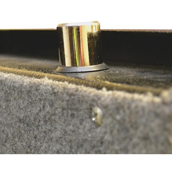 Buffalo River Gun Cabinet Gold Line with LCD 10 Gun 2mm Wall / 3mm Door
