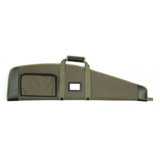 BSA Green Polytwill Gunbag with pocket