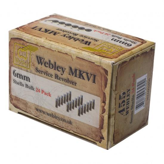 Webley MKVI Replacement Shells 24 Pack Bulk Pack of 24