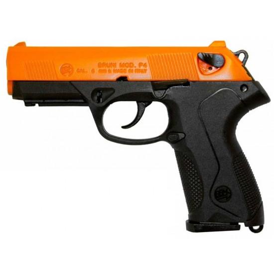 Bruni Model P4 Blank Firer 8mm Orange