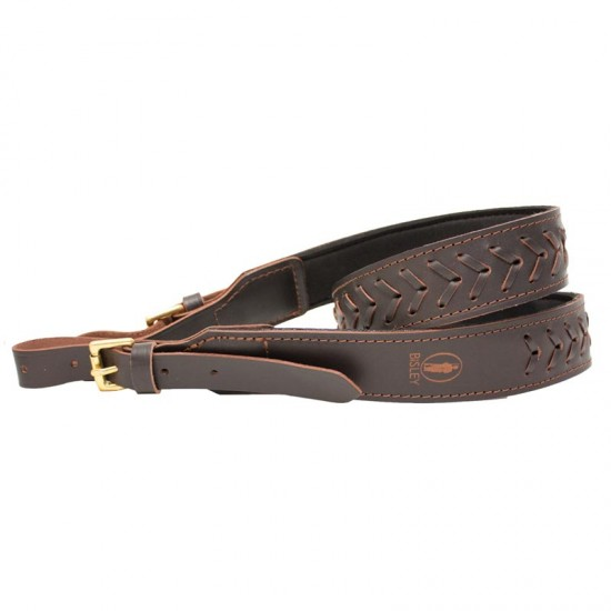 Bisley lined leather sling - Neoprene Lined