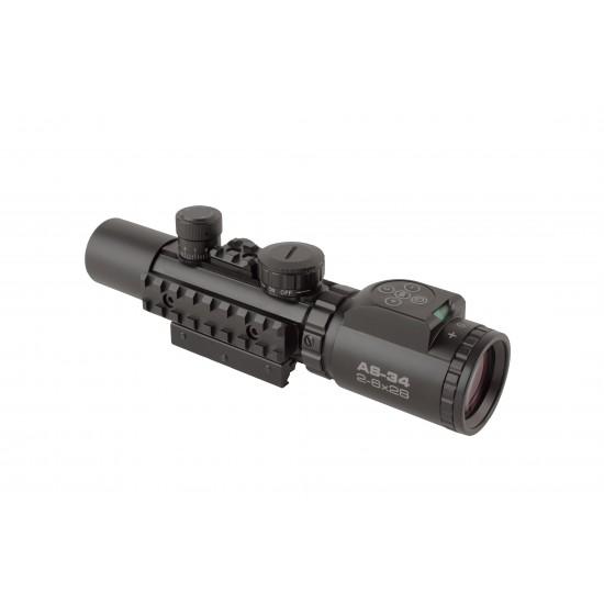Konus Pro AS-34 2-6x28 Tactical Scope