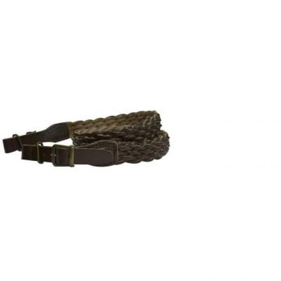 Bisley Plaited Sling Brown Leather