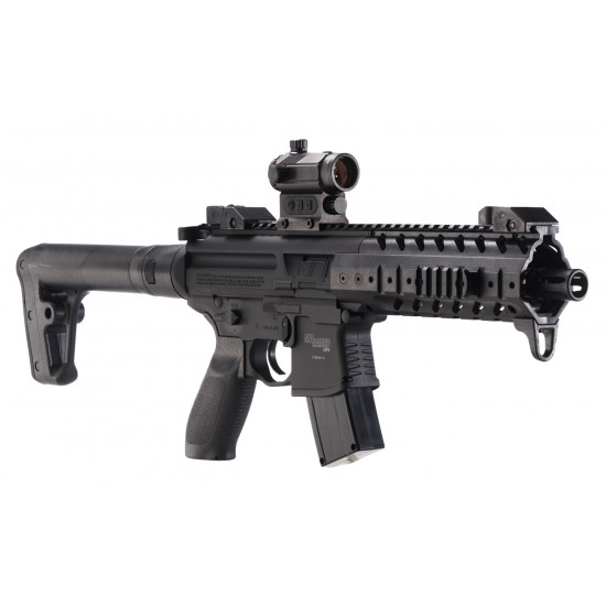 Sig Sauer MPX with Red Dot