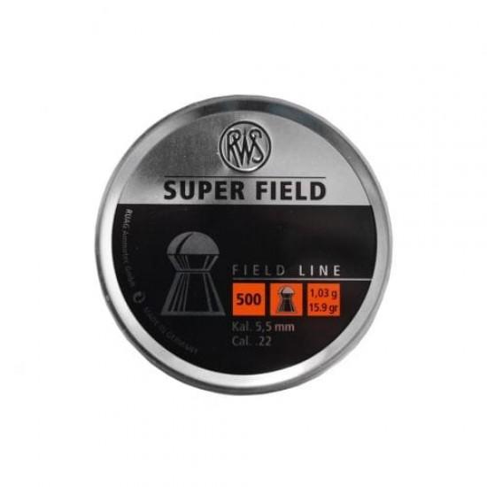 RWS Superfield .22 (5.52) Pellets x 500