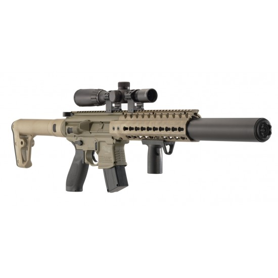 Sig Sauer MCX FDE .177 with 1-4 x 24 Scope