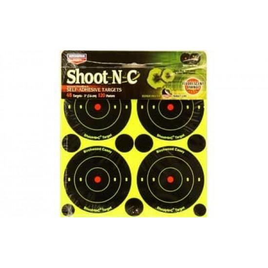 Shoot-N-C Targets 3 inch pack of 48