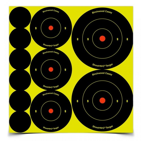 Shoot-N-C Targets mixed pack