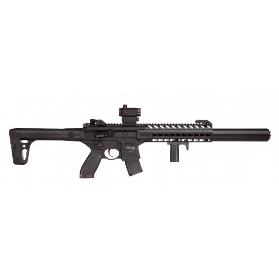 Sig Sauer MCX Black with Red Dot