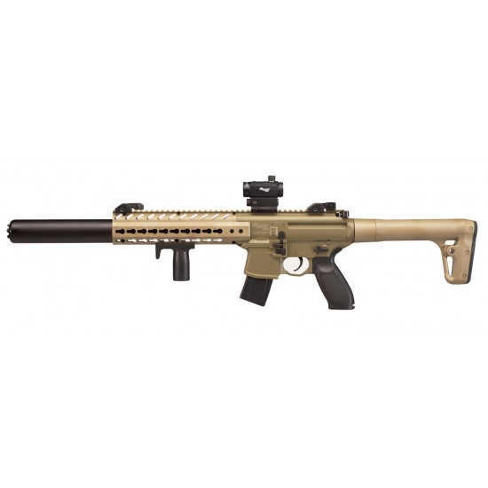 Sig Sauer MCX FDE with Red Dot