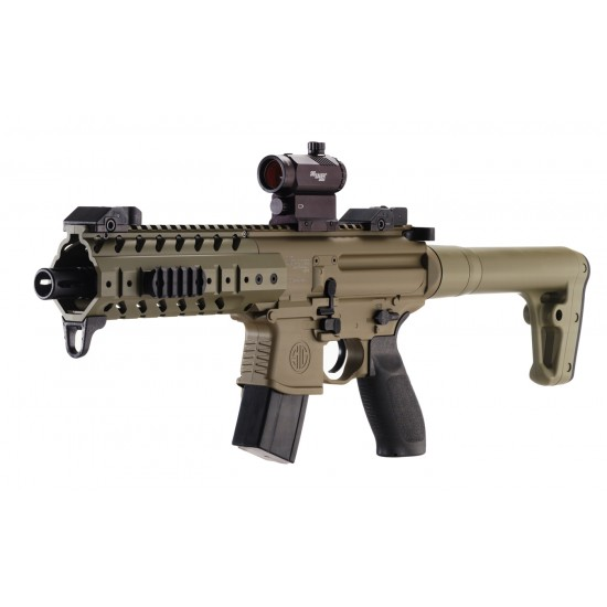 Sig Sauer MPX FDE with Red Dot