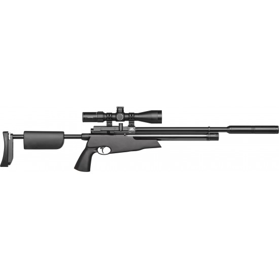 Air Arms S510 TDR Tactical Black Regulated