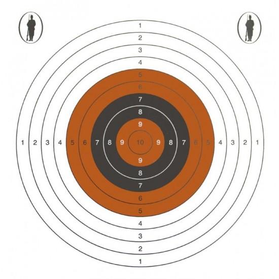 Bisley 14cm Standard Five Targets Grade 2