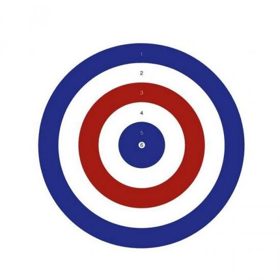 Bisley 14cm Coloured Grade 2 Targets