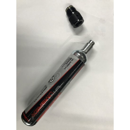 88g CO2 to Paintball Tank Thread Adapter