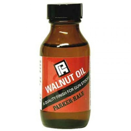 Walnut Oil 50ml Glass Bottle by Parker-Hale