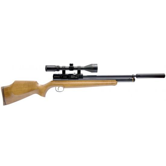 Webley Raider 10 XS PCP 10 Shot Air Rifle Wooden Stock